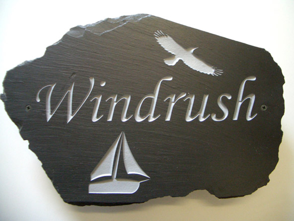 House Plaques & Name Plates made from stones for homes